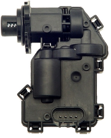 front differential axle actuator