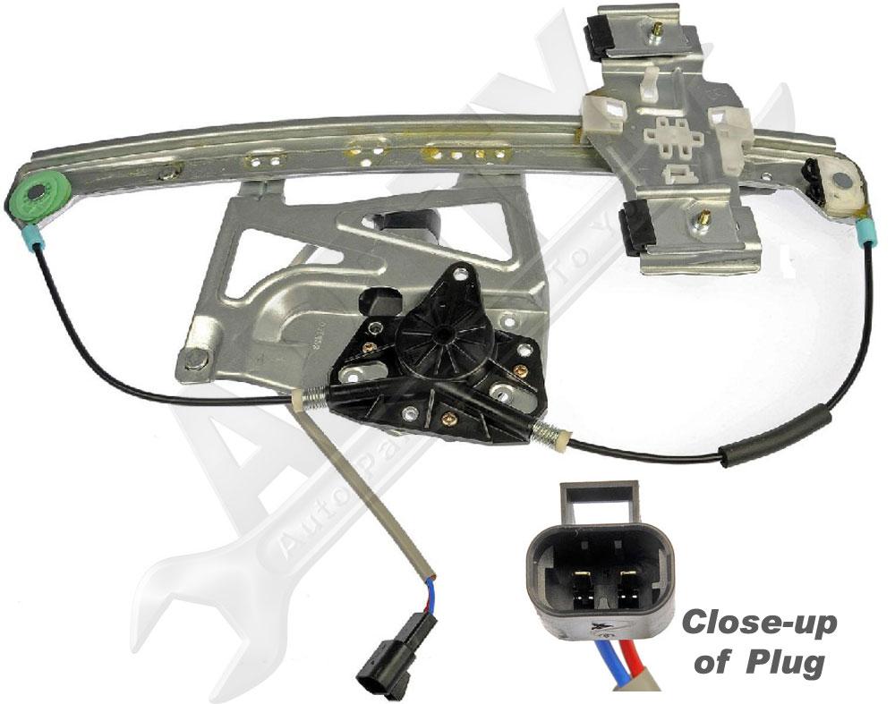 2000 2001 cadillac deville window motor regulator assembly for 2001 cadillac deville window regulator