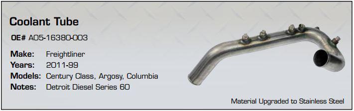 A05-16380-003 Coolant Tube