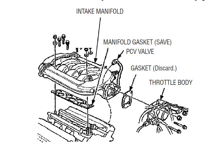 accord_egr_intake_manifold v6 acura and honda having problems with egr trouble codes p0401 97 Honda Prelude Wiring Diagram at bayanpartner.co