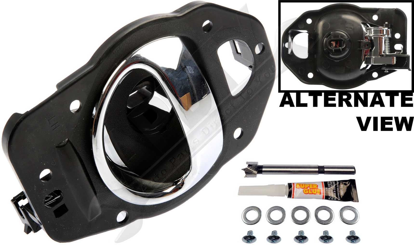 Apdty 91470 Interior Door Handle Assembly Left Front Or Rear 2006 2011 Chevy Hhr Ebay