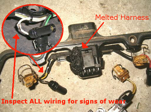 inspect _wiring 7 3l power stoke diesel feel down on power? does it make funny 1999 F350 Wiring Harness at bayanpartner.co