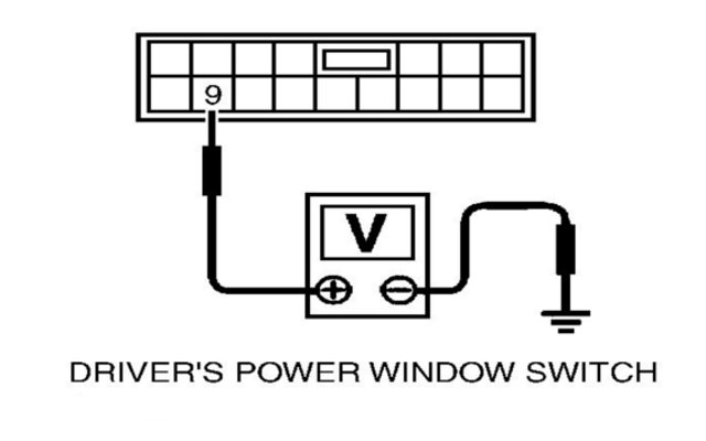 maxima window switch maxima i30 or i35 power window feature problems? check the encoder  at virtualis.co