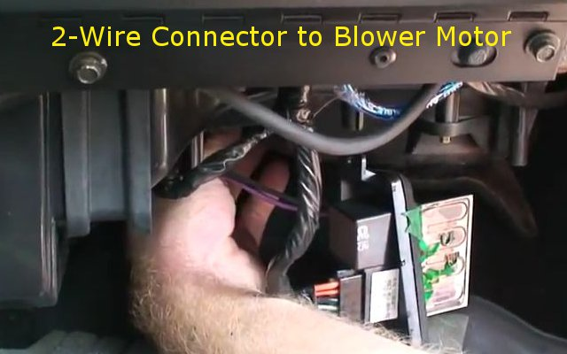 silverado blower resistor 7 how to replace the blower motor resistor that wont blow at all  at crackthecode.co