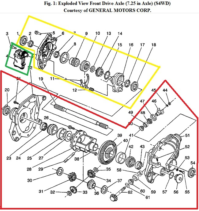 in the exploded view above the yellow box is the