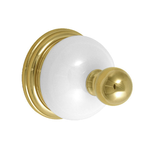 Delta 69335-PBB Brass Porcelain Bathroom Robe Hook 2.5