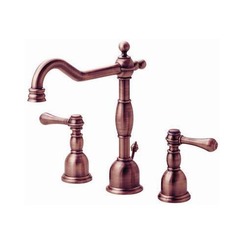 Danze D306457AC Opulence 2 Handle Bathroom Sink Faucet Antique Copper