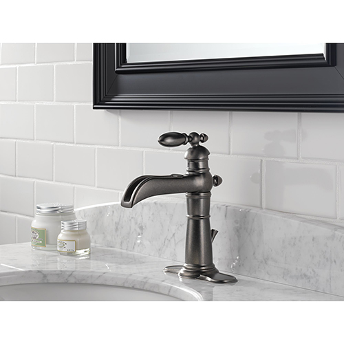 delta 554lf pt single handle bathroom sink