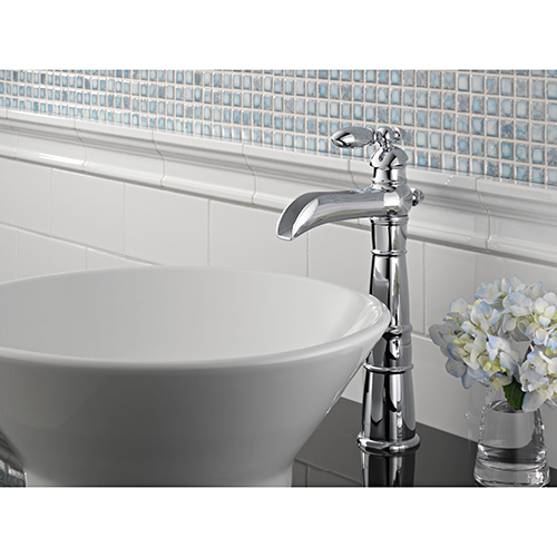 Delta 754 victorian open spout 1 handle bathroom sink - Delta bathroom sink faucet installation ...