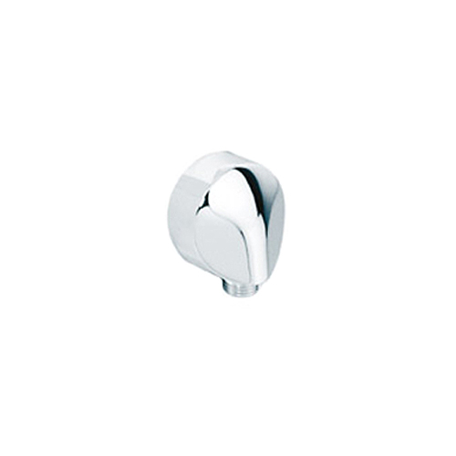 Hansgrohe 27454811 Shower Wall Outlet Satinox 1/2 Inch Inlet