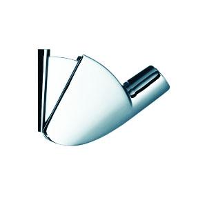 Hansgrohe 27520 Porter'A Bathroom Lavatory Handshower Holder, Satin Chrome