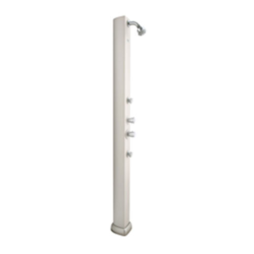 Hansgrohe 29801001 Pharo Satin Chrome Shower Panel Column