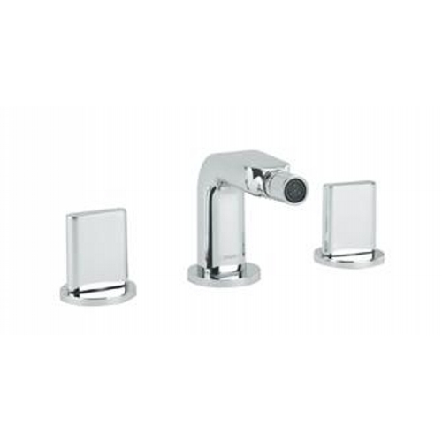 Hansgrohe 31263821 Brushed Nickel Metris S Widespread Bidet Faucet