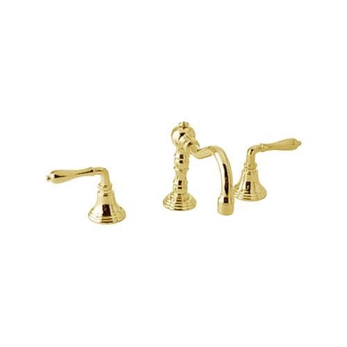 Beautiful Victorian Bathroom Faucet: Jado 853/048/113 Victorian Ultra Brass Roman Tub Faucet
