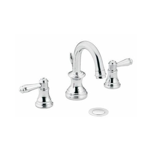 Moen 84452 Benton Two Handle Widespread Bathroom Sink Faucet Chrome ...