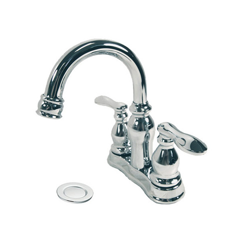 Moen CA84668 Caldwell Two-Handle Low Arc Bathroom Sink Faucet Chrome