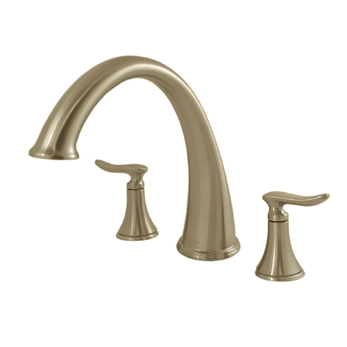 Moen 86001CBN Quinn Roman Tub Bath Faucet, Two Handle Brushed Nickel