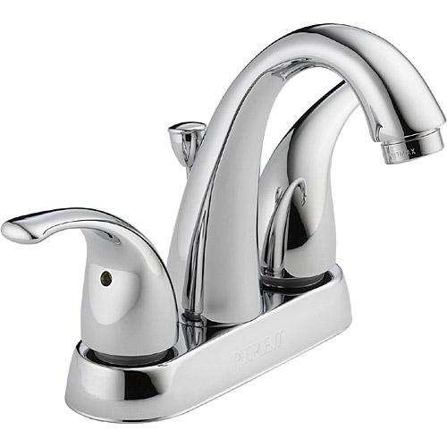 Peerless P299695LF-W Apex Two Handle Centerset Bathroom Faucet; Chrome