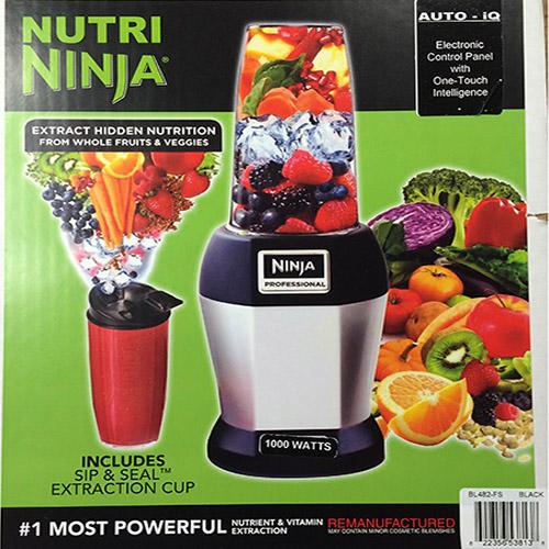 Extractor De Baño Traduccion:IQ Auto Nutri Ninja Blender