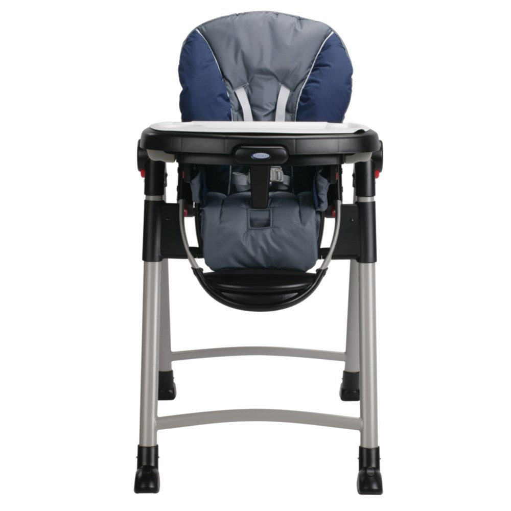 graco 1918633 contempo baby chaise haute in bleu nuit ebay. Black Bedroom Furniture Sets. Home Design Ideas