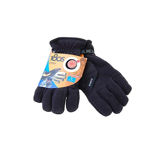 180s Exhale Black Fleece Heating Winter Snow Ski Gloves Kids M 8-10 - 180s Gloves Fashion