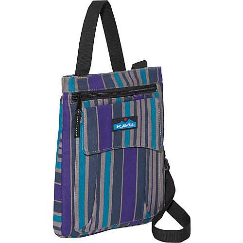 Kavu Keeper Cross-Body Bag Wallpaper Stripe 917-101