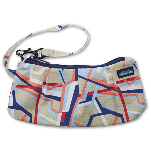 Kavu Kennedy Clutch Women's Purse Handbag in Arcade Stripe 935-190