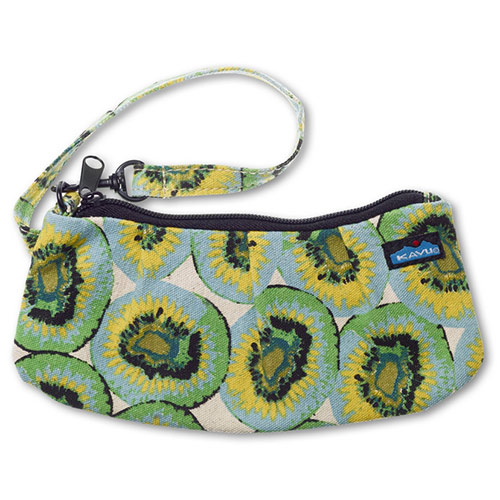 Click here for Kavu Kennedy Clutch Women's Purse Handbag in Kiwi Float 935-192 prices