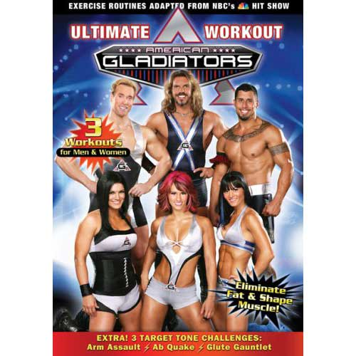 American Gladiators Ultimate Workout (2008) Exercise DVD - Exercise and Fitness Movies and DVDs