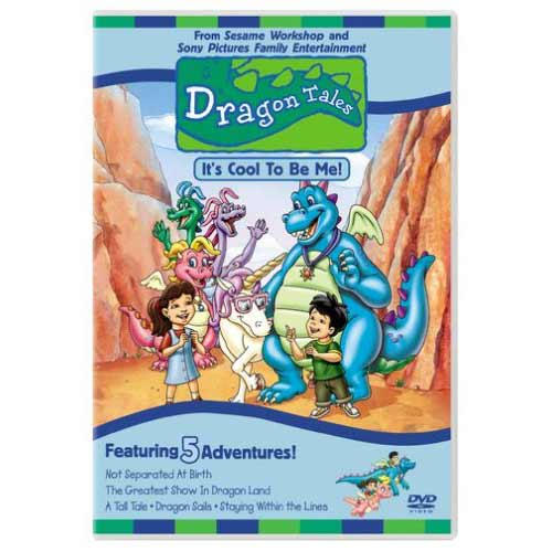 Dragon Tales - It's Cool To Be Me - 5 Adventure DVD Movie - Kids and Family Movies and DVDs