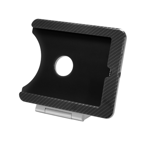 INFOtainment iPad Mini Tablet Foldable Charging Dock Stand Black Carb - iPod and Cell Phone Accessories Electronics