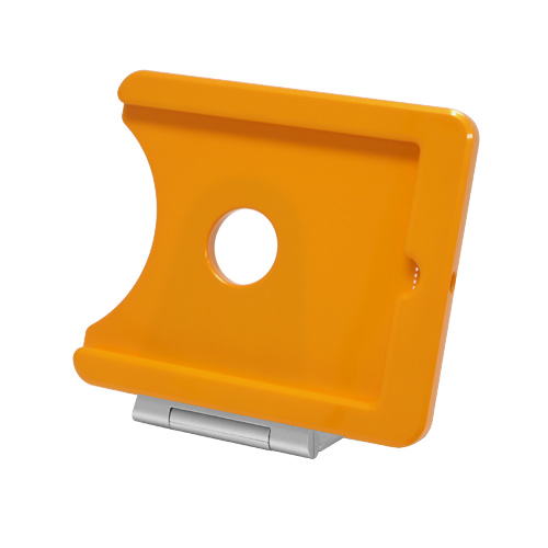 INFOtainment iPad Mini Tablet Foldable Charging Dock Stand Orange E223763 - iPod and Cell Phone Accessories Electronics