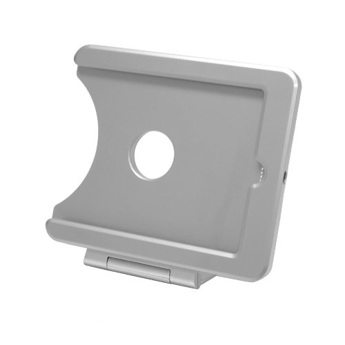 gifts and gadgets store - INFOtainment iPad Mini Tablet Foldable Charging Dock Stand Silver E223763 - iPod and Cell Phone Accessories - Electronics