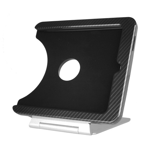 INFOtainment iPad Tablet Foldable Charging Dock Stand Black (Fits Gens 1 2 3) - iPod and Cell Phone Accessories Electronics
