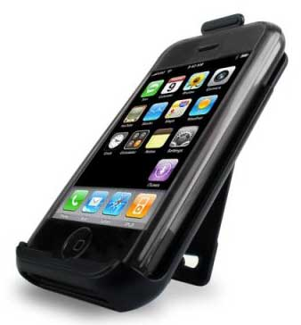 speck see-thru iphone case & holster smoke iph-smk-see, fits 1st gen only