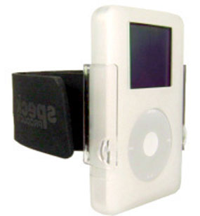 Speck SkinTight iPod Armband 4G-ARM-01 w/ Clear Skin, Fits 4G 20, 40 Gig Photo (4th Gen) - iPod and Cell Phone Accessories Electronics
