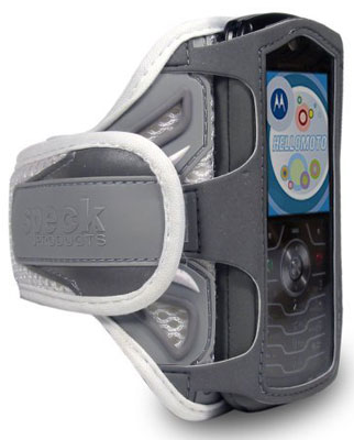 speck active sport armband case slvr-active-arm for motorola slvr l7/l7e phones