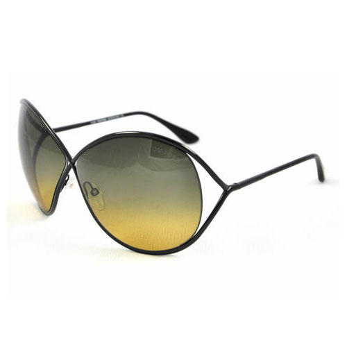 Tom Ford Lilliana Oversized Sunglasses Black FT0131-01P