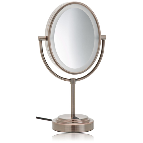 Details about Conair BE47BR Oiled Bronze 1X/7X Lighted Makeup Mirror ...