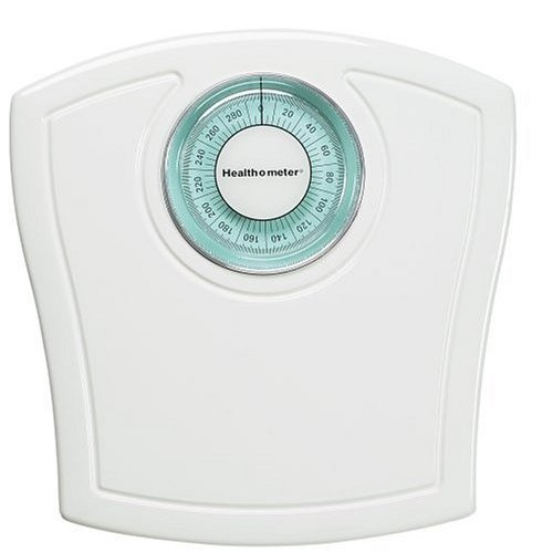 Health o Meter HAB117KD-01 White Rotating Dial Scale - Scales Personal Care