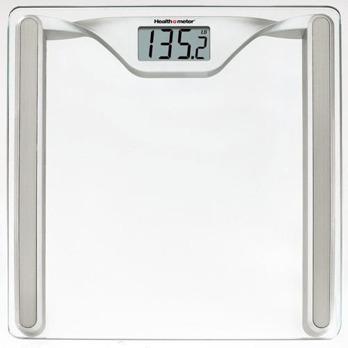 gifts and gadgets store - Health o Meter HDL645KD-63 Glass Bathroom Digital Weight Scale Silver - Scales - Personal Care