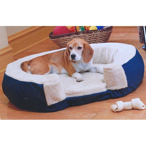 Adjustable Air Bed Manufacturers : Aero paws small inflatable soft fleece washable adjustable