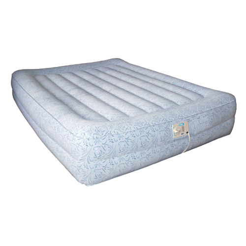 Aerobed 86623 Raised Queen Elevated Designer Inflatable Mattress Airbed w Pump