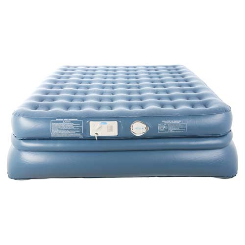 aerobed 9323 queen size raised quadra coil air mattress inflatable bed ebay. Black Bedroom Furniture Sets. Home Design Ideas