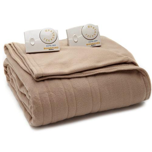 biddeford comfort knit fleece electric heated blankets. Black Bedroom Furniture Sets. Home Design Ideas