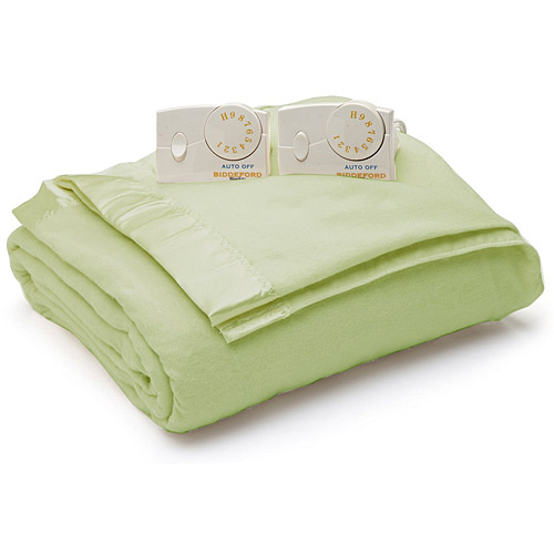 Biddeford Satin Edge Electric Heated Warming Blanket Twin Full Queen Sizes at Sears.com