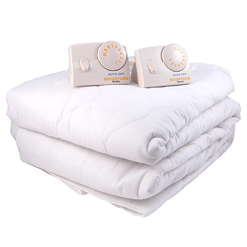 Biddeford Cal King Quilted Electric Heated Mattress Pad