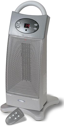 Bionaire BCH3620-U Digital Control Tower Ceramic Space Heater - Heaters Home and Garden