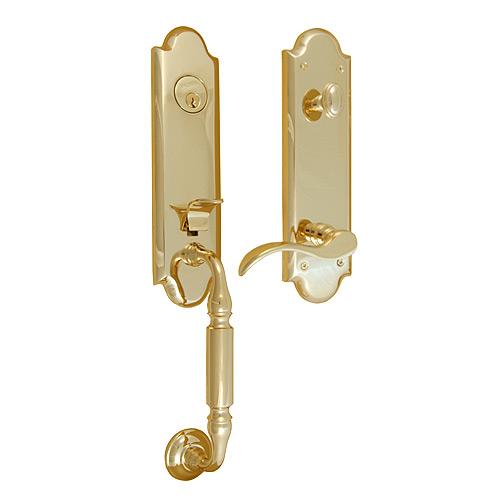 Baldwin manchester entrance door hardware for Baldwin entrance sets