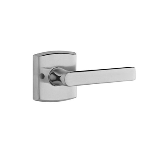 Baldwin 5485.260.RDM Soho Righty Dummy Lever Handle Polished Chrome - Dummy Door Locks Home and Garden
